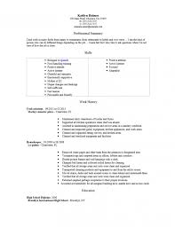 Agreeable Nanny Resume Job Description In Sample Of Objective