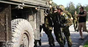 Эстонская армия самая слабая в Балтии