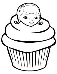 Doc Mcstuffins Cupcake Coloring Page Get Coloring Pages