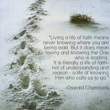 Oswald Chambers Quotes New Sunday Quotes Not Of Understanding And Reason All My Roads
