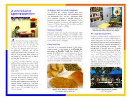 Sample Preschool Brochure Template Inspiring Preschool Brochure Preschool Brochure 20