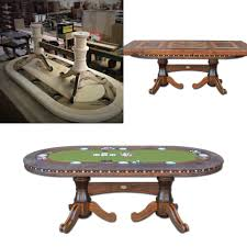 Poker Table Felt Designs Dining Table Converts To Poker Table Old World Design
