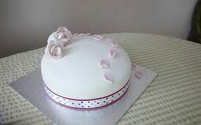 Simple Birthday Cake Designs Stiff Peaks