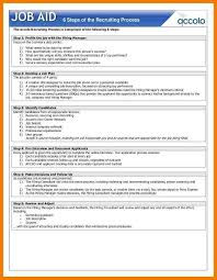Stunning Job Aids Template Gallery Entry Level Resume Templates