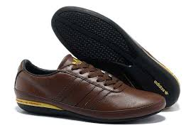 trading adidas porsche typ 64 mens genuine leather shoes brown 708383233