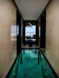 2 glass floor over water amazing interior design
