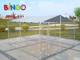 bingo dog kennel 4x4x1 83m with roof