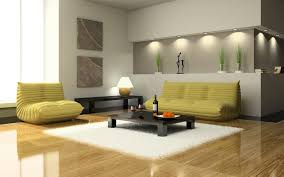 Trendy Yellow Couch And White Living Room Fur Rug Feat Cool Small Black  Coffee Table Design