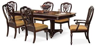 lovely dining room table sets with leaf newcastle 7 piece package the brick furniture hover to zoom tables drop round