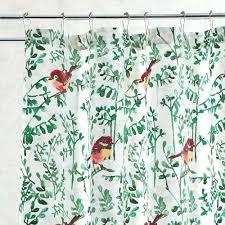bird shower curtain winter birds shower curtain pier 1 imports intended for curtains decor 4 bird bird shower curtain