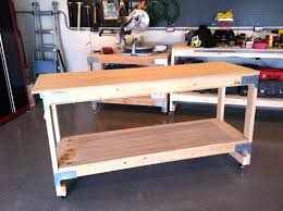how to make a work bench the art of