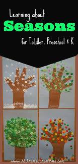 Seasons Chart Kindergarten Free Printable Seasons Activities 123 Homeschool 4 Me
