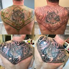 Tiger Polynesian Tribal Freehand Tattoo Yelp