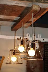 wood beam chandelier rustic wooden