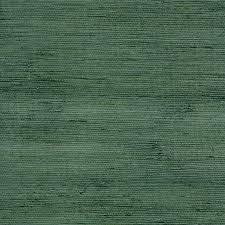 allen + roth Blue Green Grasscloth Unpasted Textured Wallpaper