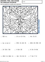 Math art worksheets by Math CrushPreview of math art worksheet on The Three Basic Properties - Level 2