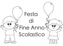 Cartello Festa Di Fine Anno Scolastico Da Stampare Disegni Da
