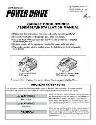 chamberlain garage door manual chamberlain garage door manual lock