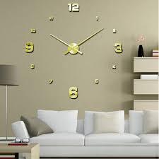 digital office wall clocks. ishowtidenda vovotrade luxury 3d diy large wall clock mirror surface sticker home office decorchina digital clocks