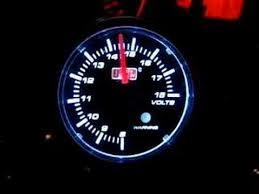 auto gauge volt meter