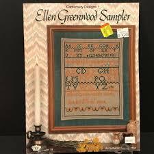 Cross Stitch Chart Generator Canterbury Designs Ellen Greenwood Sampler Cross Stitch Chart Pattern
