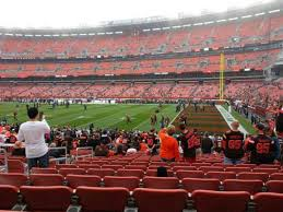 Cleveland Browns Stadium Seating Chart View Firstenergy Stadium Section 138 Home Of Cleveland Browns