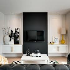 Dark Accent Wall Ideas For Living Room