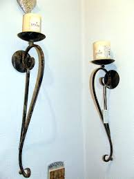 wrought iron wall lights beautiful decorative ...