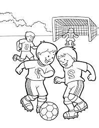 Soccer Coloring Pages For Kids At Getdrawingscom Free For