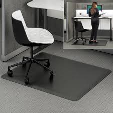 chair mat with lip. Furniture: Chair Mat Beautiful Ergonomic Sitâ Stand46 X 60 Deflecto Llc - With Lip R