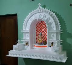 ganesh pooja decoration with thermocol craft satya pinterest