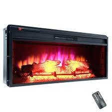 electric fireplace logs with heat pleasant hearth 23 in electric fireplace logs heater included