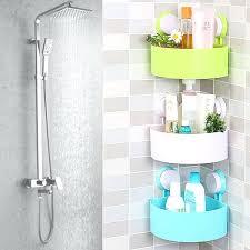 bathroom wall rack high quality cute bathroom corner storage rack organizer shower wall shelf with suction