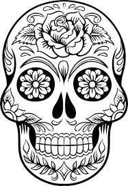 Day Of The Dead Coloring Sheets Q3628 Day Day Of Dead Coloring