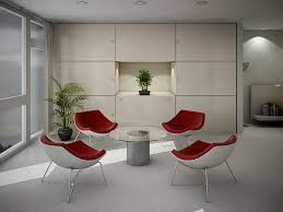 image of modern conference table chairs