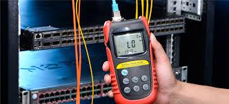 Plc Splitter Loss Chart Test Optical Splitters Loss With Optical Power Meter Light
