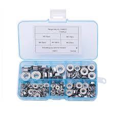 500 pcs set m2 5 m3 m4 m5 m6 stainless steel shells pad spring lock washer elastic gasket