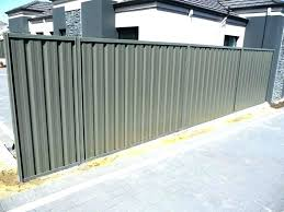 corrugated metal fence panels metal panel fence corrugated metal fence panels corrugated metal privacy fence panels