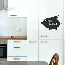 lifestyle shot of the pig chalkboard wall decal sticker canada flying weekly planner chalkboard wall