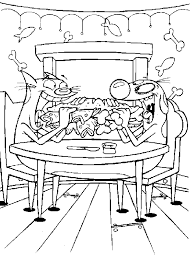 Small Picture Coloring Page Catdog coloring pages 9