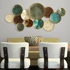 on stratton home decor textured plates metal wall art with stratton home decor textured plates wall decor