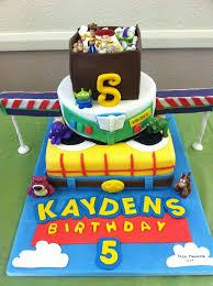 Toy Story Themed Birthday Cake Sweet Cake Bites