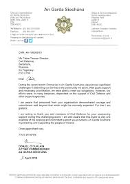 Letters Of Appreciation Letters Of Appreciation To Civil Defence Civil Defence