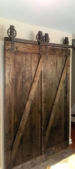 barn door closet hardware sliding barn wood door closet hardware track system set