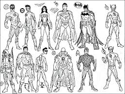 Superhero Coloring Pages Printable Avengers Coloring Pages Free