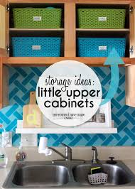 organize kitchen office tos. Storage Ideas For Little Upper Cabinets | Great And Solutions Using Those Small Organize Kitchen Office Tos
