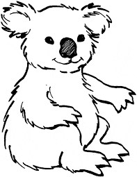Small Picture Koala coloring page Animals Town Free Koala color sheet