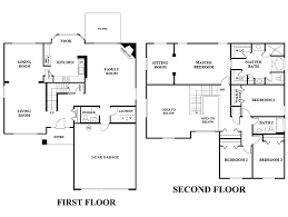 two story house plans one story 5 bedroom house plans pretty looking 5 patio home plans