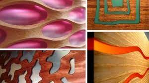 decorative modern wood wall paneling