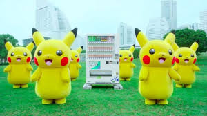 Pokemon Vending Machine Toys Stunning Stop What You're Doing And Watch A Bunch Of Pikachus Dance Around A